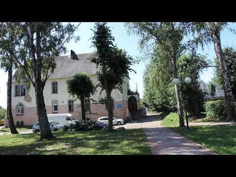 Нестеров. Черняховского -- центральная улица города. Калининградская область