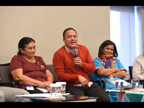 Colombia Peace Forum: Colombian Human Rights Defenders Navigate Post-Accord Challenges