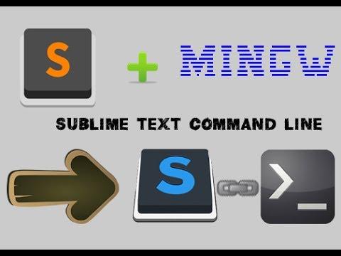 Hướng dẫn cài đặt WinGW và thêm vào Sublime Text 3 / Build C/C++ bằng Sublime Text 3 Command line