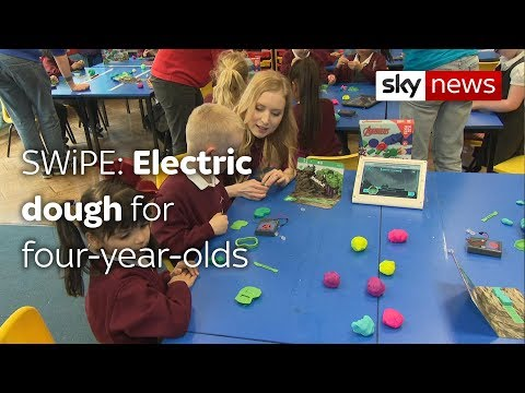 Swipe: Fighting cancer while you sleep & electric dough for four-year-olds