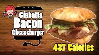Wendy's Ciabatta Bacon Cheeseburger Recipe