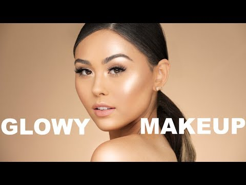 GLOWY SPRING MAKEUP TUTORIAL | Roxette Arisa