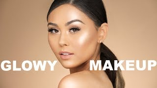 connectYoutube - GLOWY SPRING MAKEUP TUTORIAL | Roxette Arisa