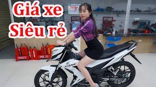 Cập nhật giá xe Honda Sonic Suzuki Satria 2021
