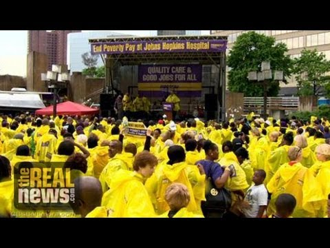 What's Behind the Decline of Organized Labor in Baltimore? - TRNN Webathon Panel
