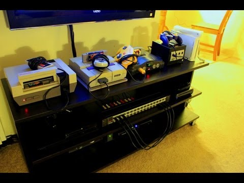 CNET How To - Make a video game console patchbay