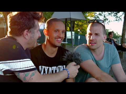 Music Talk mit Glanton Gang am Gurtenfestival 2014