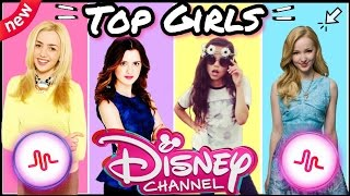 Top Disney Channel Girls Musical.ly Battle | Famous Disney Channel Girls Musically 2017