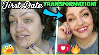 FIRST DATE MAKEUP TRANSFORMATION!!! | Chatty Get Ready With Me #30