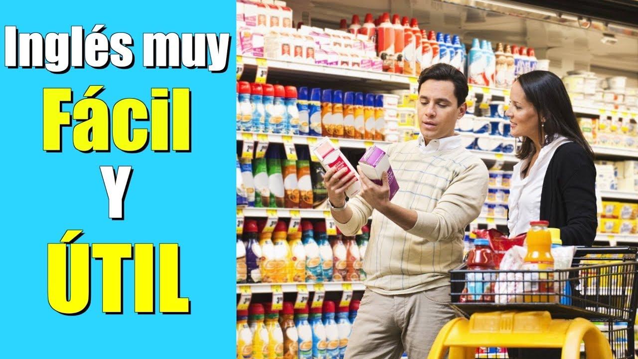 Inglés para USAR cuando vayas a COMPRAR comestibles!!
