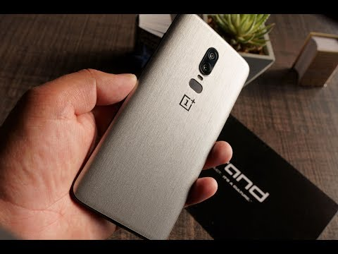 Applied DBrand Sandstone Skin on OnePlus 6 - Great Experience
