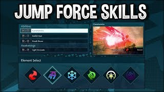 Jump Force - J-Skills, Ability Skills, Elemental Attributes, Battle Types Explained!