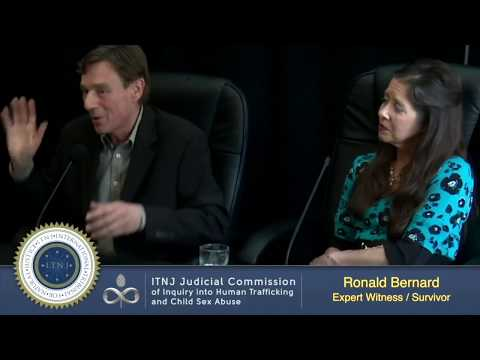 Testimony of Ronald Bernard about heavily damaged children and our liberation