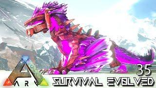 ARK: SURVIVAL EVOLVED - INFERNAL ROCK DRAKE & KARKINOS | ARK EXTINCTION ETERNAL E35