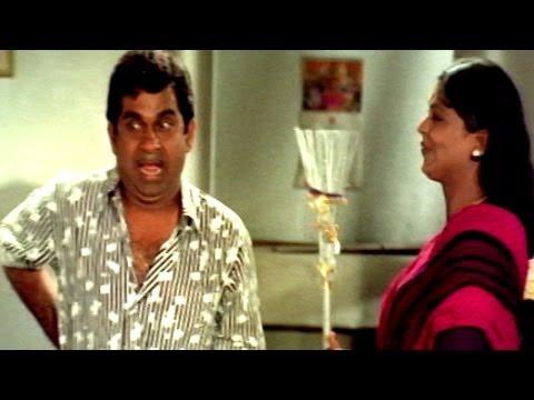 Pedarayudu Movie || Brahmanandam Best comedy scene || Mohan Babu,Soundarya
