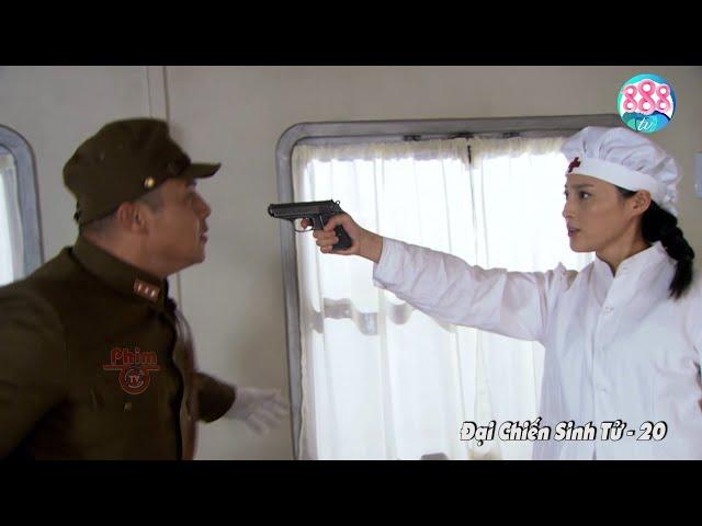 Nữ Y Tá Nằm Vùng 1 Viên Đạn Kết Liễu Tên Đặc Vụ Phản Bội Trên Giường Bệnh   Đại Chiến Sinh Tử 888TV