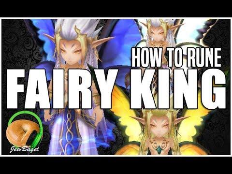 SUMMONERS WAR : How to Rune FAIRY KING (Daphnis, Psamathe, Ganymeade, Oberon, Nyx)