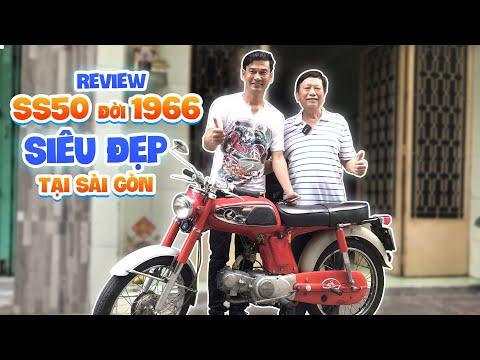 Nghệ Sĩ Tiết Cương ra khu Chợ Lớn review xe SS50  đời 1966 đẹp nhất Việt Nam