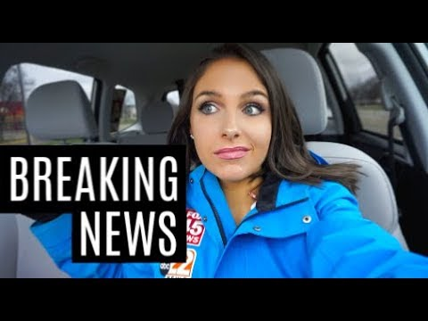 When Breaking News Happens | Life Of A TV Reporter