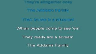 Adams Family TV Theme Karaoke