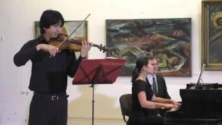 Л в Бетховен Скрипичная Соната 1 27 12 2015 Фернандос Хорхэ скрипка Наталья Вокина фортепиано