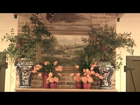 How to Style a Mantle with James Farmer | Southern Living
