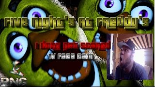 I DONT GET SCARED !!! 2 Five Nights at Freddy's 1 Night 1 w Face Cam #IDGS #RNG [HD]