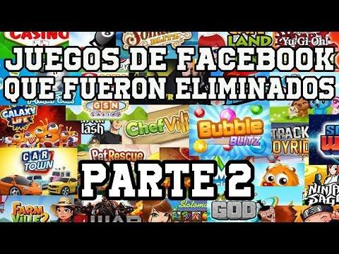 Juegos de Facebook que han eliminado/retirado|Parte 2
