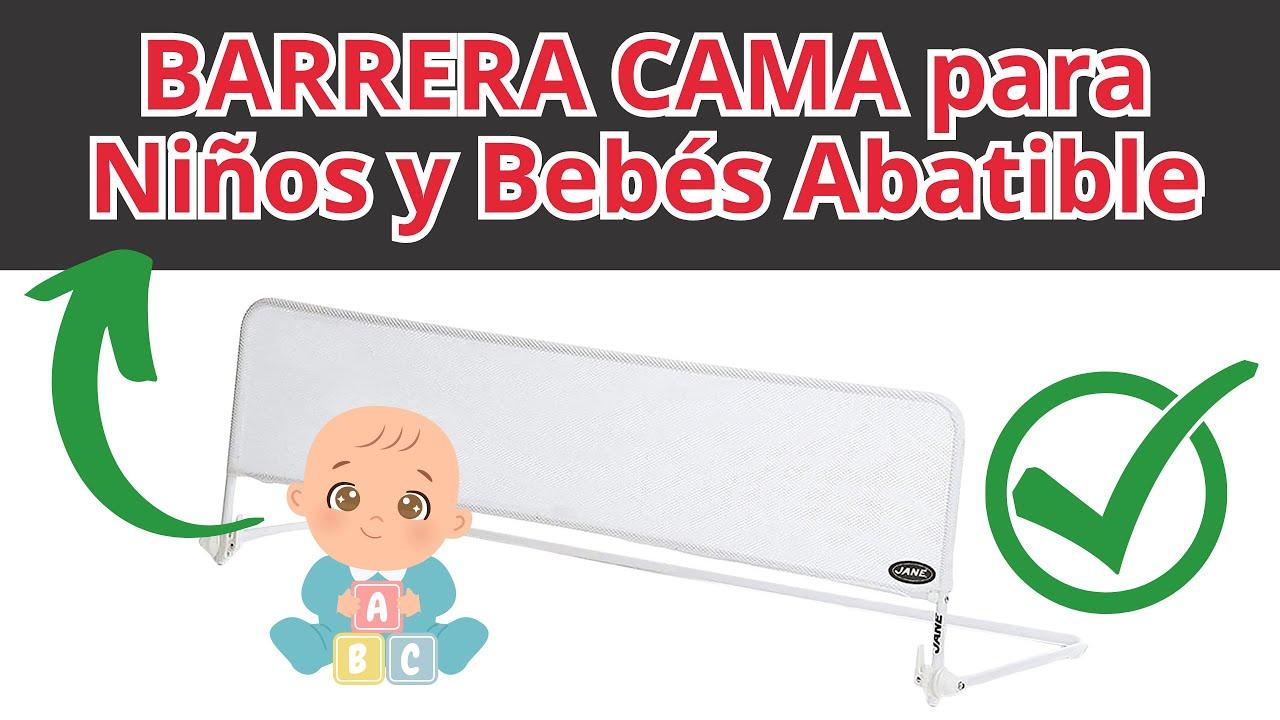 Mejor barrera cama para ni os y beb s abatible youtube - Hacer cama plegable pared ...