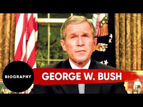George W. Bush - The United States 43rd President | Mini Bio | Biography