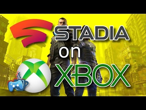 Play Stadia on Xbox Using the Edge Browser
