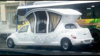 Современная свадебная карета / Cool wedding car