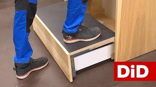 918. Duża szafa do sypialni - Space Step BLUM