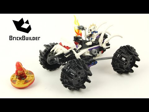 Lego Ninjago 2518 Nuckals Atv Lego Speed Build Youtube