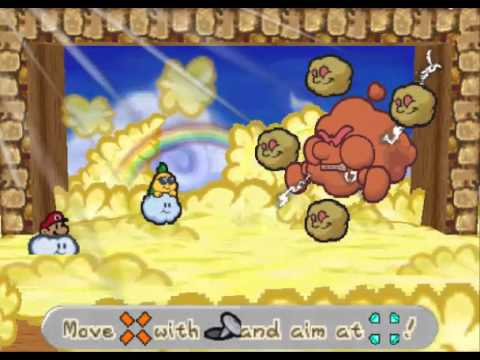 Paper Mario 64 22 Chapter 6 Dark Days In Flower Fields Spirit