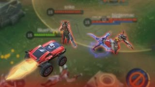 Mobile Legends Intense Fire Chief Gameplay+Build (Autobot Johnson)