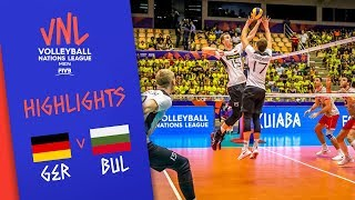 GERMANY vs. BULGARIA - Highlights Men | Week 4 | Volleyball Nations League 2019