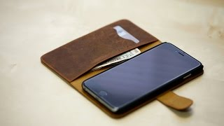 MAPi Folio Snap On Leather Wallet Case (iPhone 6/6S Plus)