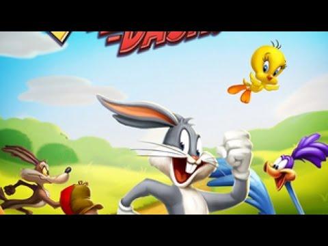 Looney Tunes! Серия 31! Играем за Багз Бани! Веселая игра Луни Тюнз
