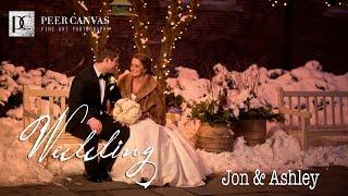 Osthoff Resort Winter Wedding Elkhart Lake WI | Ashley + Jon