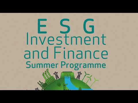 ESG Investment and Finance Summer Programme