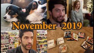 November 2019 - Journal/Vlog