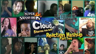 Cloud Strife Storms into Battle! PART TWO (Super Smash Bros. Wii U and 3DS) Reaction Mashup!