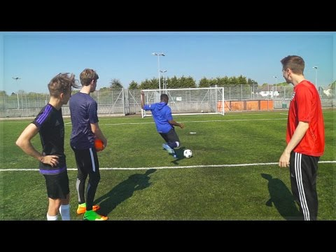 SDMN VS YTAS: FOOTBALL CHALLENGES!!
