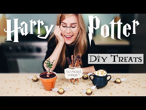 Harry Potter DIY Treats | Lana
