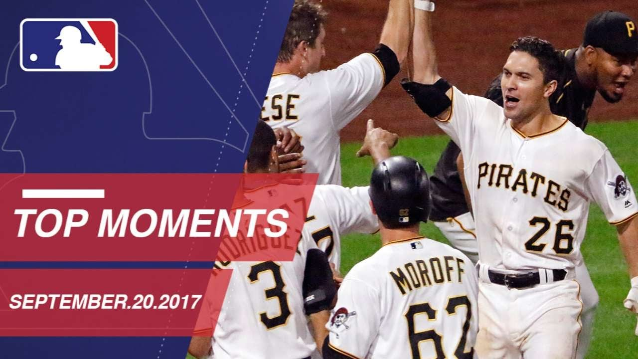 Frazier's walk-off HR, plus nine more moments from around the Majors: 9/20/17