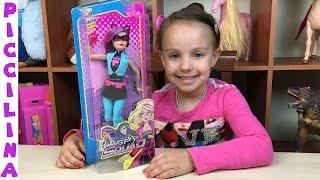 Обзор куклы Барби и команда шпионов - Патриция (кошка-грабительница)Review Barbie Spy Squad