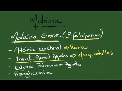 Malária - Resumo - Parasitologia
