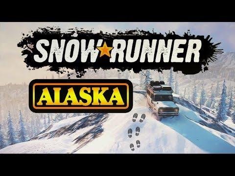 ✔️SnowRunner ALASKA All Trucks // OFFROAD // ВЗЛОМ НА ДЕНЬГИ // СКАЧАТЬ ИГРУ //ОБЗОР// ПИАР // стрим