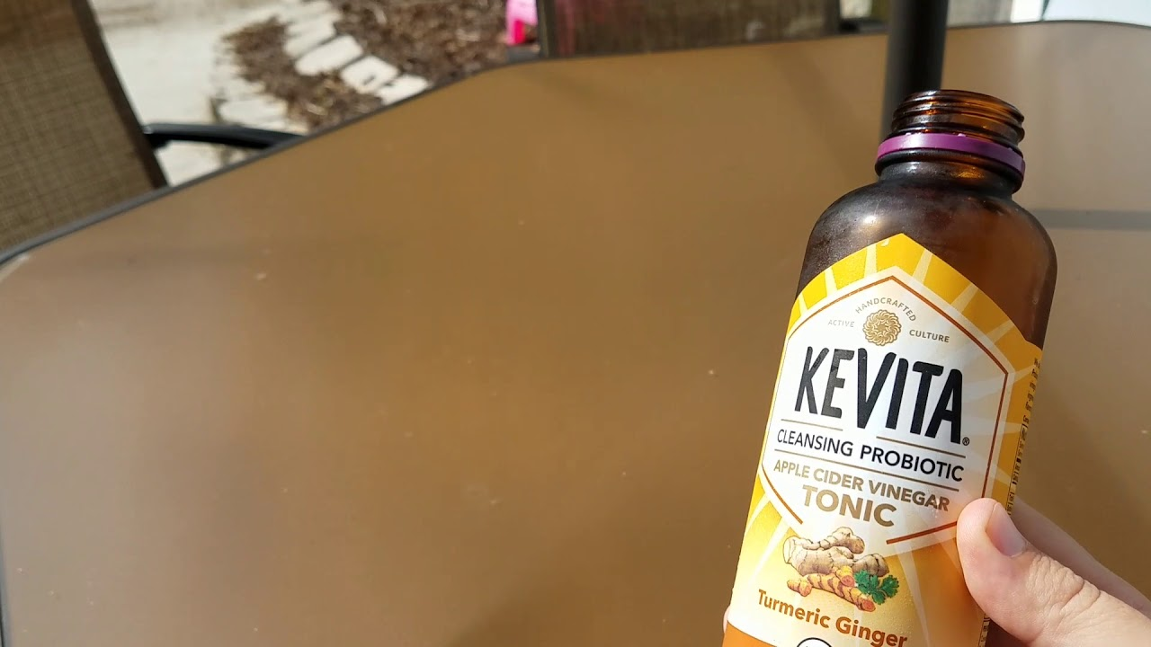 Kevita Apple Cider Vinegar Tonic Health Drink Turmeric